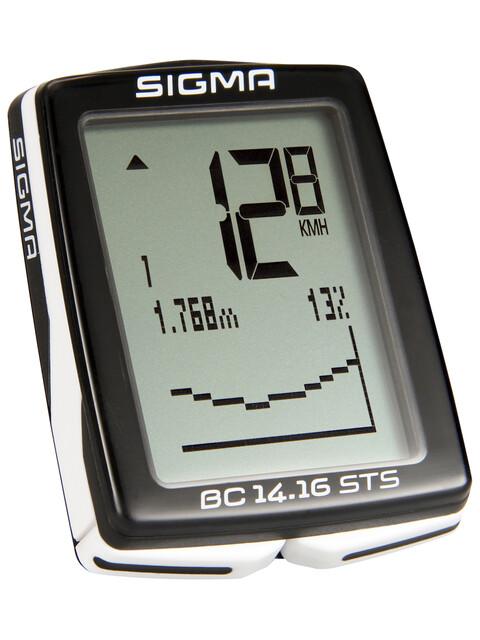 SIGMA SPORT BC 14.16 STS fietscomputer Draadloos zwart